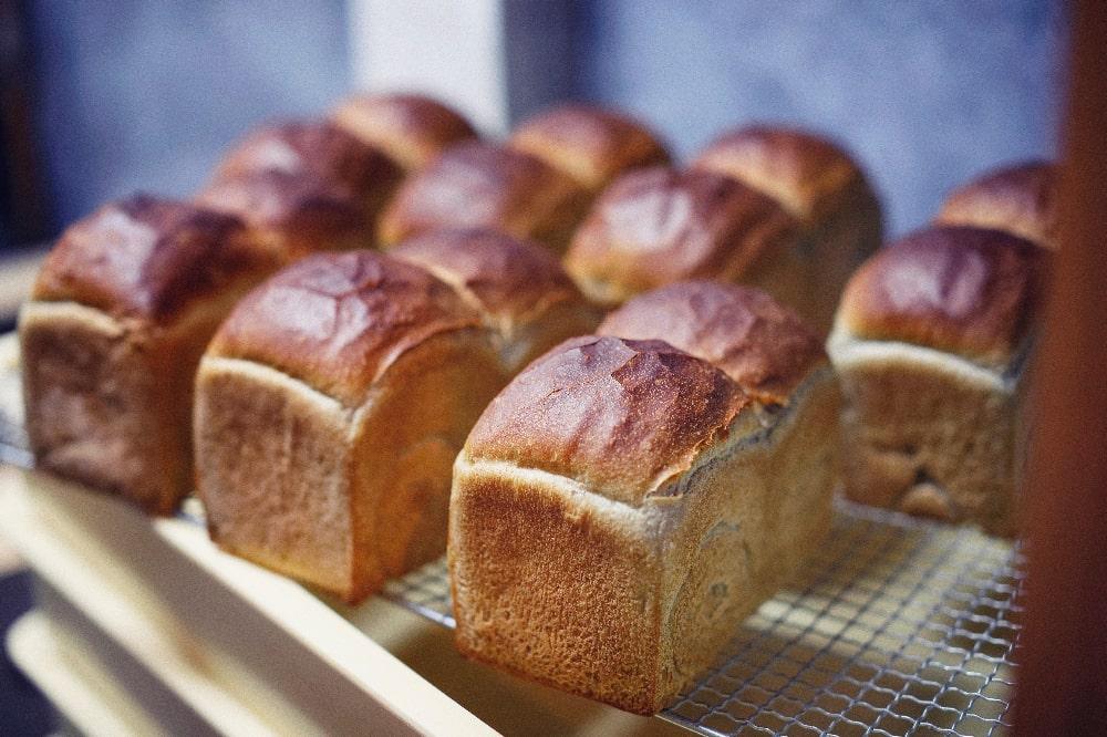 ありのまんまの食パン