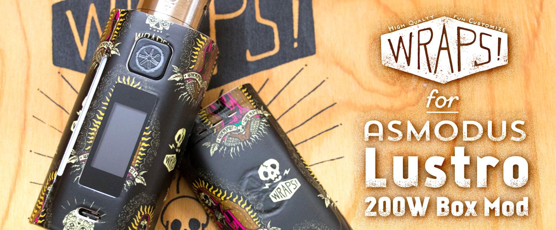 WRAPS! for asMODus Lustro 200W Box Mod