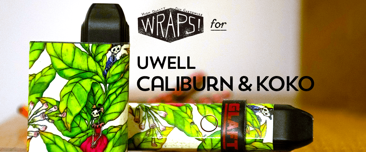 WRAPS! for UWELL Caliburn and KOKO