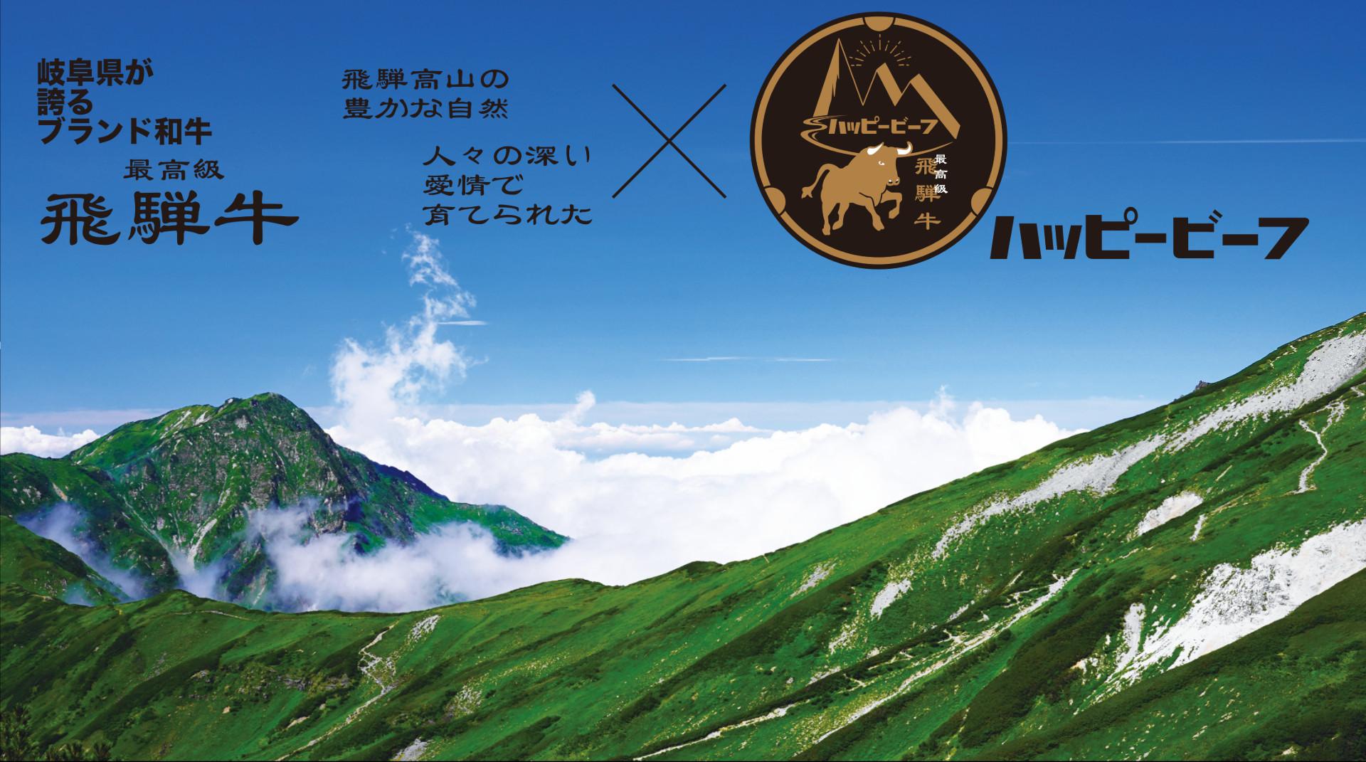 北アルプスと飛騨牛