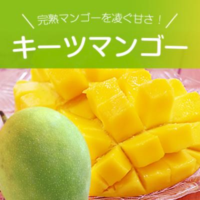 完熟マンゴーを凌ぐ甘さ キーツマンゴー