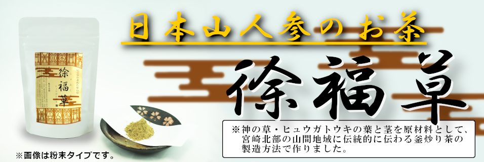 日本山人参 徐福草
