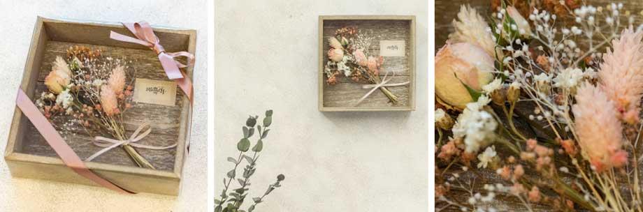 Herbarium(ハーバリウム)+母の日限定パンドジェンヌ ギフトセット