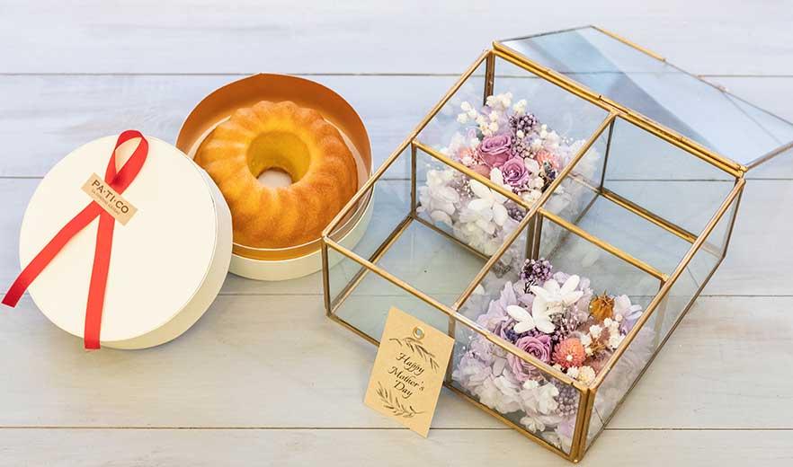Flower jewelry BOX+パンドジェンヌ ギフトセット