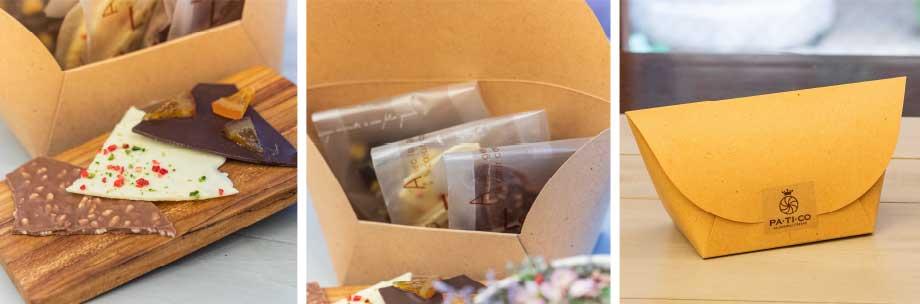 Flower&Candle BOXセット (アートフラワー&アロマキャンドル)+ショコラカッセ 3種 ギフトセット